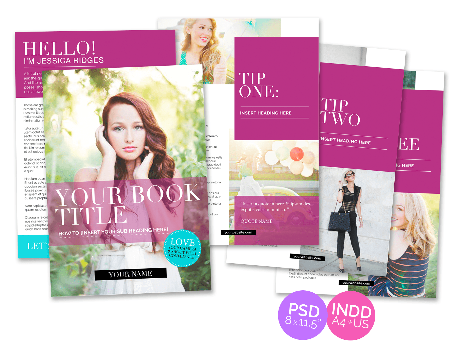 Download My Best Selling Ebook Design Template For Free